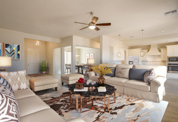 Comfty Living and Dining Area